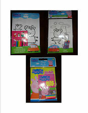 New Peppa Pig Play Pack Art Set Jigsaw Puzzle - Stocking Filler - Party Favor