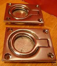 LIFT RING HATCH PULLSLifts ~ CHRIS CRAFT CENTURY Chrome BRASS NOS