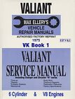NEW MAX ELLERYS WORKSHOP SERVICE REPAIR MANUAL CHRYSLER VALIANT VK BOOK 1
