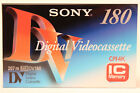 Sony DV 180 Digital Video Cassette MEM2 - (1) Single Tape DV180 NEW *SHIPS WORLD