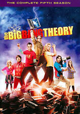 New Sealed The Big Bang Theory:The Complete Fifth Season (DVD, 2012, 3-Disc Set)