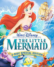 Disney's The Little Mermaid Movie (DVD, 2-Disc Platinum Edition) Free Shipping!!