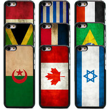 COUNTRY FLAG VINTAGE GRUNGE CASE COVER FOR APPLE IPHONE 5C (A to J)