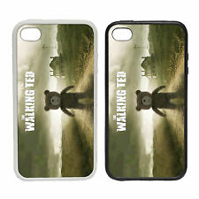 The Walking Ted - Rubber And Plastic Phone Cover Case - Dead Parody Film Funny