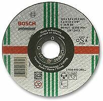 Bosch 2608600385 Cutting Disc, Stone, Flat, 125mm