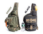New Military Style Cotton Canvas Backpack Sling Bag, Bicycle Bag #BL617A