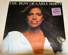 CARLY SIMON THE BEST OF 33RPM VINYL RECORD-EXCELLENT RARE PROMO COPY