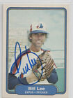 Bill Lee Spaceman 1982 Fleer #194 Montreal Expos SIGNED CARD AUTOGRAPHED