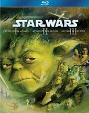 Star Wars Trilogy: Episodes I-III (Blu-ray Disc, 2011, 3-Disc Set, Boxed Set)