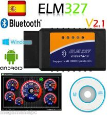 ELM327 BLUETOOTH MULTIMARCA DIAGNOSIS VERSIÓN 2.1 OBDII COCHE SCANER ELM 327 VER