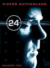 24 - Season 2 (DVD, 2003, 7-Disc Set) New Factory Sealed Collector's Edition