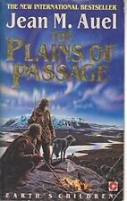Jean M. Auel The Plains of Passage (Earth's Children) Very Good Book