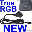 RGB Scart Cable TV AV Lead for Sega Megadrive II 2 High Quality DOUBLE SCREENED