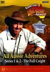 RUSSELL COIGHT'S ALL AUSSIE ADVENTURES series 1 & 2 Region 4 DVD new & sealed