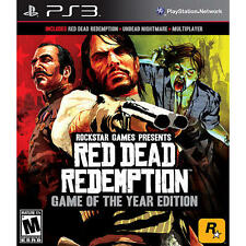 Red Dead Redemption -- Game of the Year Edition (Sony PlayStation 3, 2011) New