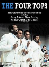 The Four Tops - Live in Paris (DVD, 2004)