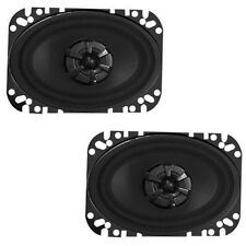 Audiobahn AMS460H 4 X 6 Inches 2-Way Murdered Out Series Coaxial Car Speakers