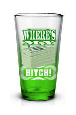 Breaking Bad Jesse Pinkman Where's My Money Bitch Beer Pint Glass TV Series
