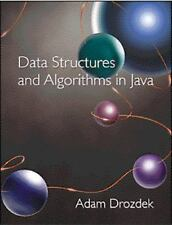 Data Structures and Algorithms in Java by Adam Drozdek (2000, Hardcover)