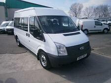 Ford Transit T300 9 SEAT MINIBUS 125PS AIRCON  DIESEL MANUAL WHITE (2013)