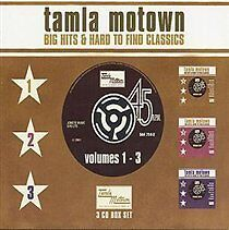 Various Artists - Motown Big Hits & Hard to Find Classics volumes 1-3 (2001)