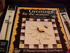 Greetings For The Seasons Decorative Painting Book Greeting 12 Card Projects