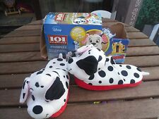 Girls or Ladies Disney 101 Dalmations Official Stompeez slippers Size 3-5 Large