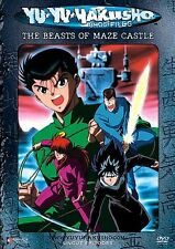 Yu Yu Hakusho: Ghost Files The Beasts of Maze Castle BRAND NEW/SEALED