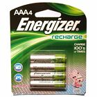 ENERGIZER AAA RECHARGEABLE4 Pack Batteries, BRAND NEW!!