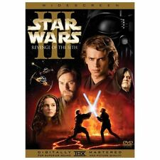 Star Wars Episode III: Revenge of the Sith (DVD, 2005, 2-Disc, Widescreen) NEW