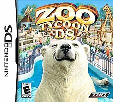 ZOO TYCOON for DS (Nintendo DS) Lite DSi xl 2ds 3ds xl