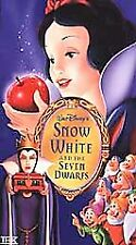 DISNEY - PLATINUM EDITION - SNOW WHITE AND THE SEVEN DWARFS - NEW  - VHS VIDEO