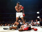 Muhammad Ali v Sonny Liston Large Wall Poster Giant Photo Quality Print A2 A1 A0