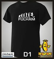 FULHAM  evolution sports football funny MENS T SHIRT small to 5XL D1