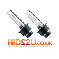 2x 6000K D2S HID XENON BULBS OEM REPLACEMENT PHILIPS BMW VW MERCEDES AUDI E MARK