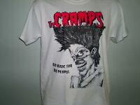 THE CRAMPS BAD MUSIC FOR BAD PEOPLE SHIRT meteors rockabilly punk king kurt