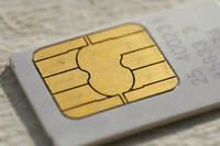 Sim card, Unlimited data, No contract, on o2, £5 credit,  tethering available