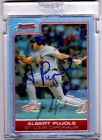 2006 Bowman Chrome Albert Pujols Refractor Auto #/d 1 of 9