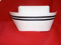 New Authentic Nurse Cap with Two Black Stripes Style
