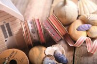 BY THE METRE - BERISFORDS NATURAL CHARM RUSTIC VINTAGE SEASIDE RIBBON