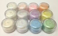 Perfect Mica Pearl Pigments Powders - Pearls and Pastels + free very mini mister
