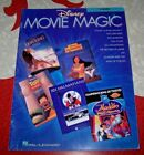 DISNEY MOVIE MAGIC Songbook for F-HORN - 14 songs!