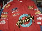 Ted Musgrave Family Channel race used team pit crew shirt XL