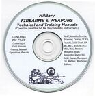 Firearms, Weapons, Military Manuals Cd - 264 Manuals