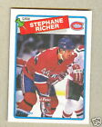 1988-89 O-PEE-CHEE STEPHANE RICHER #5 * Montreal  Canadiens