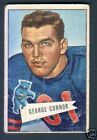 1952 Bowman Small Football Card #19 George Connor-Chicago Bears