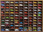 Matchbox Hot Wheels Handmade Display Case 1:64 108 cars