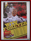 "2009 USC FOOTBALL SCHEDULE - PETE CARROLL ""WIN FOREVER"""