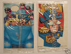 CAP'N CRUNCH DOOR HANGERS (2) Quaker Oats DISNEY ERROR