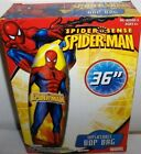 Spider-Man`36``Inflatable Bop Bag,Great For Indoor Use Or Out-: New-: Free To US